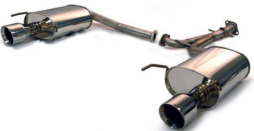 2006 Lexus GS300 Medallion Touring Dual Muffler Rear Section Exhaust by Tanabe (T70112) - Modern Automotive Performance