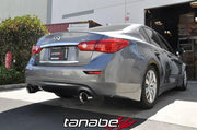14-15 Q50 Medallion Touring Axle-Back Exhaust System by Tanabe (T70176A) - Modern Automotive Performance  - 2