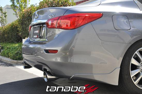14-15 Q50 Medallion Touring Axle-Back Exhaust System by Tanabe (T70176A) - Modern Automotive Performance  - 4