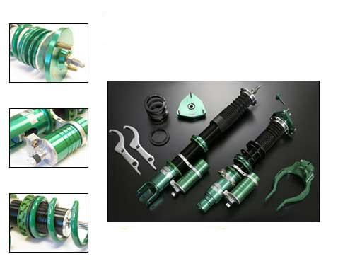 Tein Super Racing Coilovers | 2003-2006 Mitsubishi Lancer Evolution 8/9 (DSR84-81LS1)