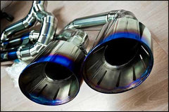 TiTek Titanium Cat-back Race Exhaust (Nissan R35 GT-R)