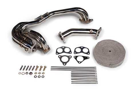 Tomioka Racing Single Scroll Unequal Length Exhaust Manifold with 3 bolt Up-pipe (Subaru EJ20/EJ25) TR-ES1000 - Modern Automotive Performance