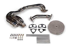 Tomioka Racing Single Scroll Unequal Length Exhaust Manifold with 3 bolt Up-pipe (Subaru EJ20/EJ25) TR-ES1000