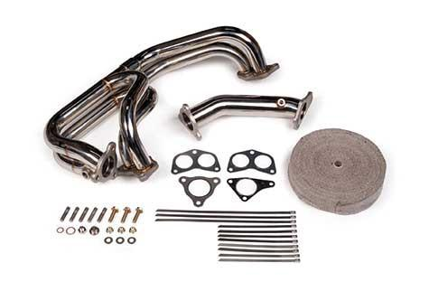 Tomioka Racing Single Scroll Equal Length Exhaust Manifold with 3 bolt Up-pipe (Subaru EJ20/EJ257) TR-ES1001 - Modern Automotive Performance