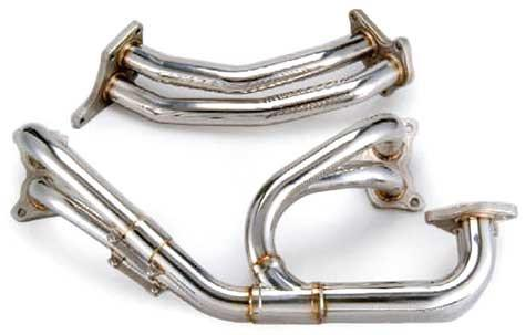 Tomioka Racing Twin Scroll Equal Length Exhaust Manifold with 3 bolt Up-pipe (Subaru STi GDB) - Modern Automotive Performance