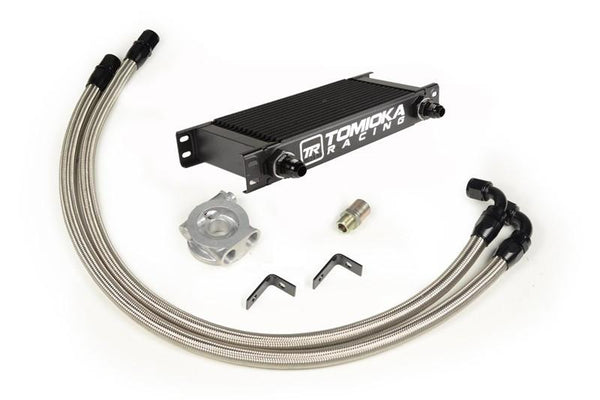 Tomioka Racing Temperature Controlled Oil Cooler Kit for Subaru WRX 2015 (TR-ES2043) - Modern Automotive Performance