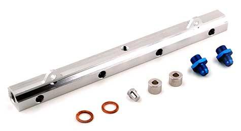 Tomioka Racing Upgraded Fuel Rail Kit (Mitsubishi Evo 8/9) - Modern Automotive Performance