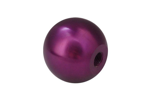 Billet Shift Knob (Purple): Universal 10x1.5 by Torque Solution - Modern Automotive Performance
