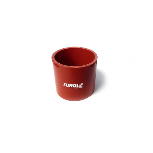 "Torque Solution Straight 3"" Silicone Coupler - Red (TS-CPLR-S3R)"