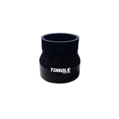 "Torque Solution 2.25"" to 3"" Transition Silicone Coupler -  Black (TS-CPLR-T2253BK)"