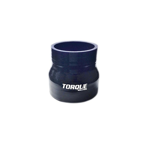"Torque Solution 3"" to 3.5"" Transition Silicone Coupler - Black (TS-CPLR-T335BK)"