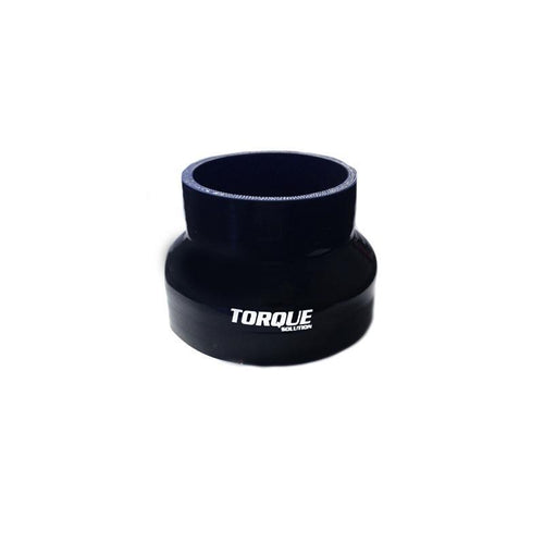 "Torque Solution 4"" to 5"" Transition Silicone Coupler - Black (TS-CPLR-T45BK)"