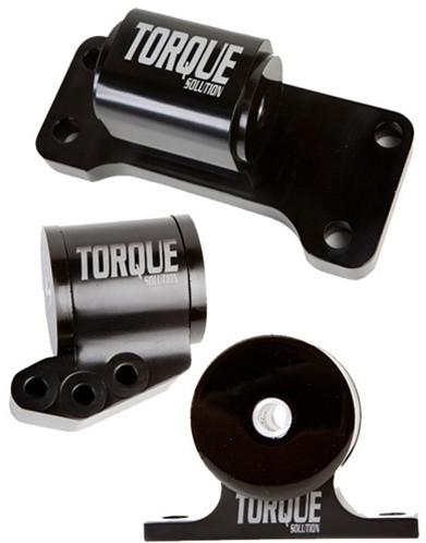 Torque Solution Billet aluminum 3 piece Engine Mount kit  5 Speed (Mitsubishi Evolution VII-IX 2001-2006) - Modern Automotive Performance