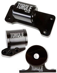 Torque Solution Billet Aluminum 3-Piece Engine Mount Kit for 5 Speed | 2001-2006 Mitsubishi Evo 4-9 (TS-EV-125)