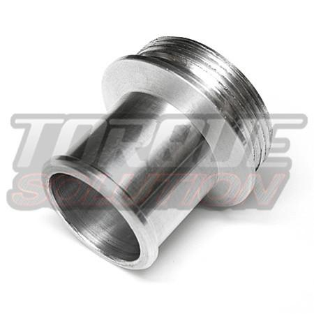 "Torque Solution 1.0"" Greddy Style Type RS Recirculation Adapter - Aluminum 