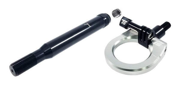 Torque Solution Rear Tow Hook & GoPro Mount - Silver | 2013-2017 BRZ/FR-S/86 (TS-THR-86-GPSIL)