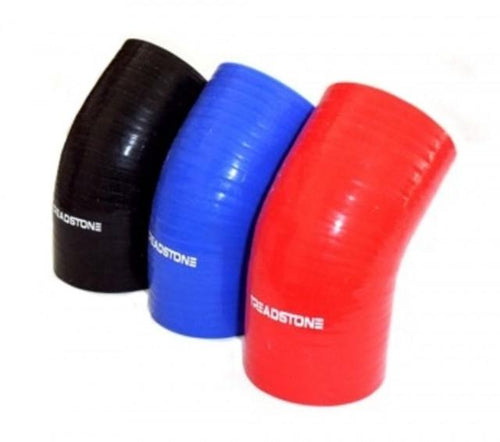 "Treadstone Silicone Couplers / 1.25"" 45 Deg. 