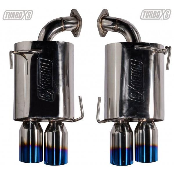 TurboXS Cat-Back Exhaust | 2015 Subaru WRX/STI (txs-WS15-CBE) - Modern Automotive Performance  - 2