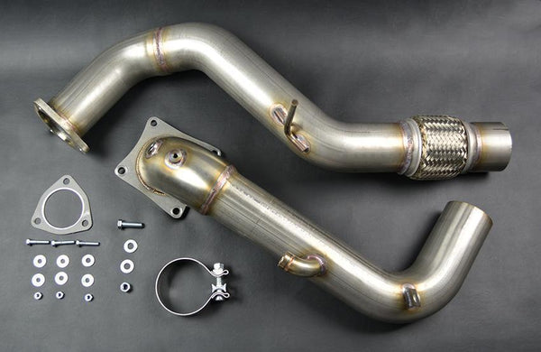 Ultimate Racing Catted Downpipe | 2017+ Honda Civic Type-R FK8 (30010-CAT)