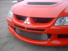 Ultimate Racing Front Mount Intercooler Upgraded Core | 2003-2007 Mitsubishi Lancer Evolution VIII & IX (20016)