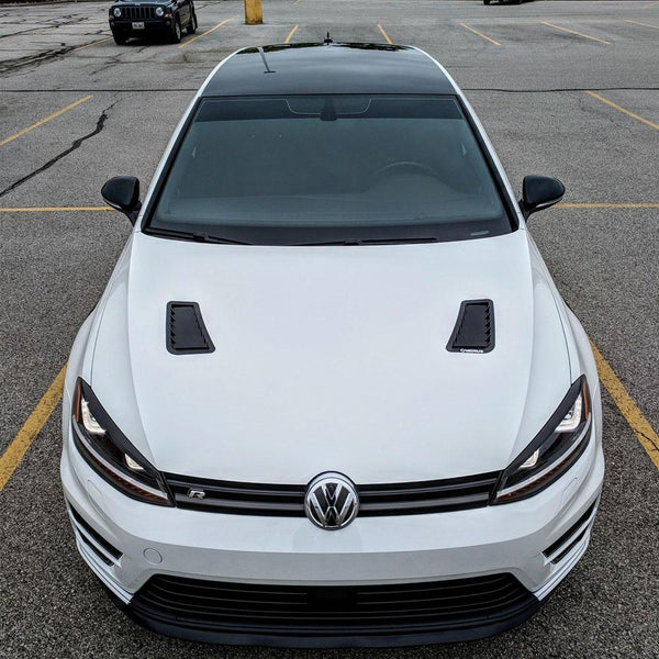 Verus Engineering Hood Louver Kit | 2015-2021 Volkswagen Mk7 Golf R / GTI (A0140A)