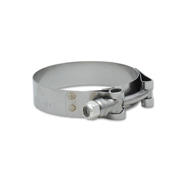 "Vibrant Performance Stainless Steel T-Bolt Clamps - Range: 1.49"" to 1.84"" (Pack of 2)  (2788)"