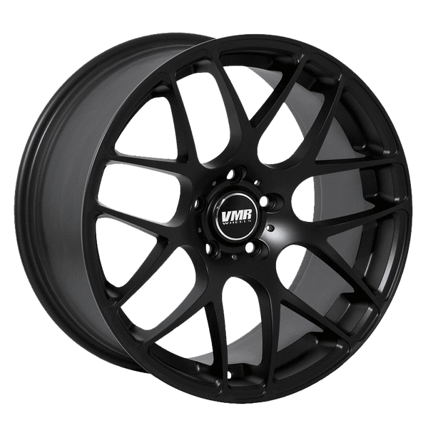"VMR V710 5x112 18"" Matte Black Wheels"
