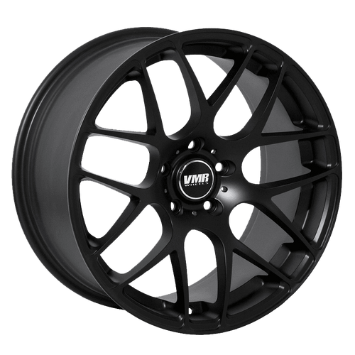 "VMR V710 5x112 20x9.0"" +35mm Offset Matte Black Wheels"