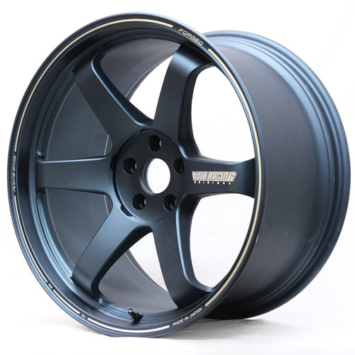 "Volk TE37 Ultra 5x114.3 20"" Matte Blue Gunmetal Wheels"