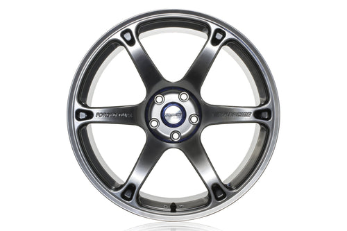 "Volk TE037 DURA 5x120 20"" Brightening Metal Dark Wheels"