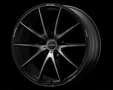 "Volk G25 EDGE 5x114.3 20"" Pressed Matte Black Wheels"