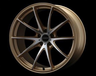 "Volk G25 EDGE 5x114.3 20"" Gold Wheels"