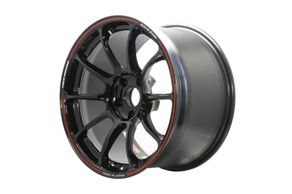 "Volk ZE40 Time Attack 5x114.3 18"" Black / REDOT Wheels"