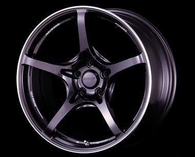 "Volk G50 5x100 18"" Dark Purple Gunmetal Wheels"