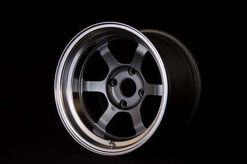 "Volk TE37V 4x114.3 16"" Gunmetal Wheels"