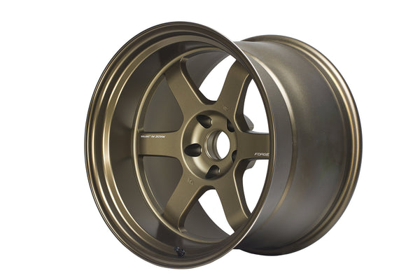 "Volk TE37V Mark-II 5x114.3 18"" Bronze Wheels"