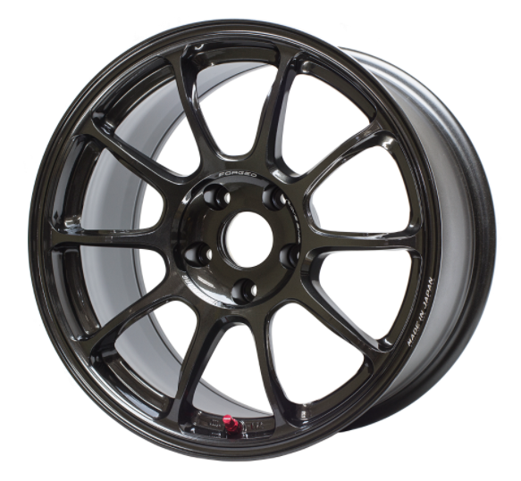 Volk ZE40 Diamond Dark Gunmetal Wheel 17x9/5x114.3/+40 Offset (WKZQ40EDX)