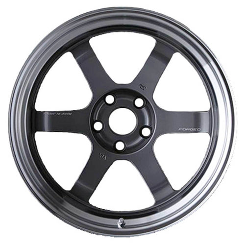 "Volk TE37V Mark-II 5x114.3 18"" Gunmetal Wheels"