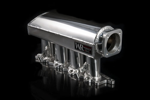 Weapon-R Race Sheet Metal Intake Manifold | 2003-2006 Mitsubishi Lancer Evolution 8/9 (501-112-102)