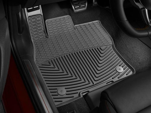 Weathertech All-Weather Floor Mats (Black) | Multiple VW/Audi Fitments (W350)