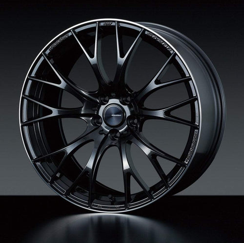 "WedsSport SA-20R 5x114.3 19"" Metal Black Wheels"