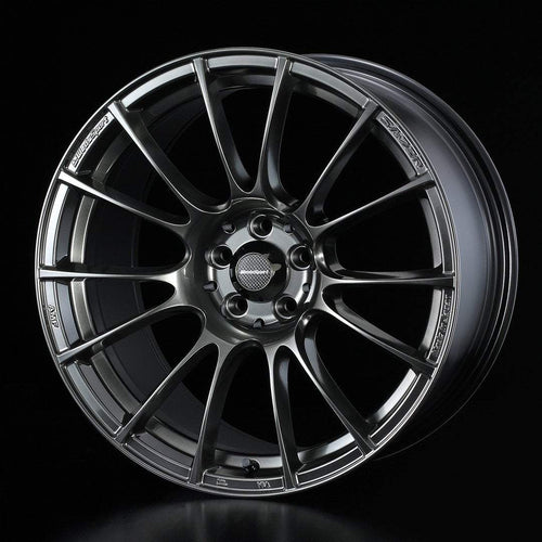 "WedsSport SA-72R 5x114.3 18"" Hyper Black Clear Wheels"