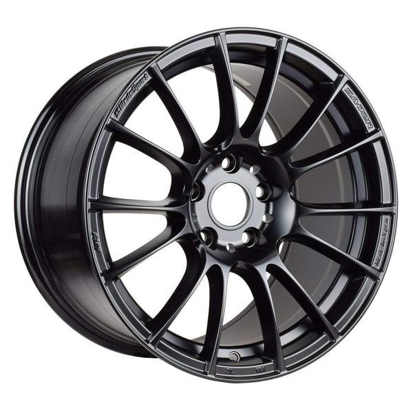 "WedsSport SA-72R Wide 5x114.3 17"" Circuit Black Wheels"