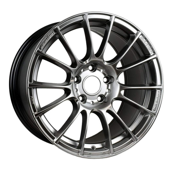"WedsSport SA-72R Wide 5x114.3 17"" Circuit Silver Wheels"
