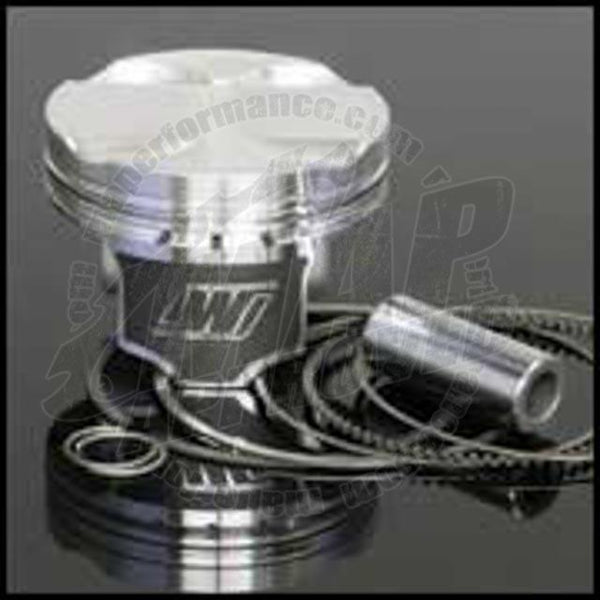 Wiseco Pistons - Toyota Celica/MR2 4AG - 20mm Pin - 82mm Bore, .040 Oversize, +5.9cc Dish, 10.2-11.8 Comp Ratio - Modern Automotive Performance