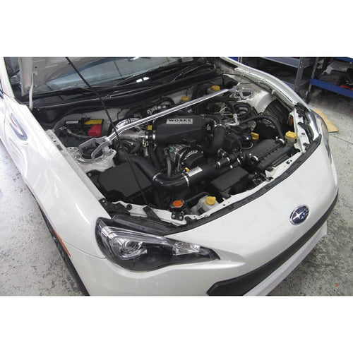 WORKS Stage 2 Calibrated/CARB Compliant Turbo Kit | 2013-2015 Subaru BRZ/Scion FR-S (142.212C)