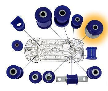 WRP USB (Urethane Suspension Bushing) - Rear Diff Support Evo - Modern Automotive Performance