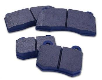 WORKS Blue Front Brake Pads (Evo / Evo X) - Modern Automotive Performance