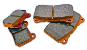 WORKS Orange Front Brake Pads | Multiple Fitments (303.102)