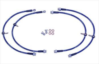 WORKS Stainless Steel Brake Lines (Evo X)